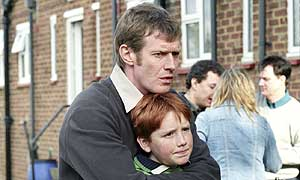 Jason Flemyng as Little Ray and Oscar Grounds as Adam