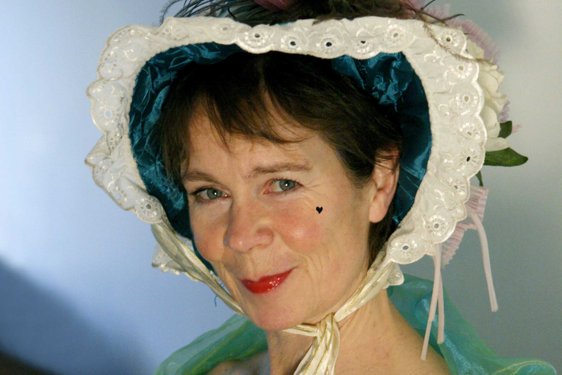 Celia Imrie as Mrs Malaprop in 'The Rivals' courtesy ofCatherine Ashmore