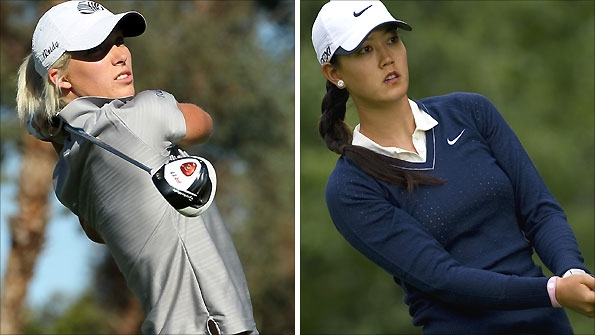Melissa Reid and Michelle Wie are two of the young stars on show in Ireland