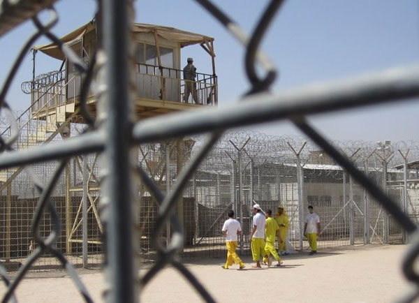 Iraqi Prison by Hugh Sykes for PM