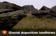 Watch 'Glacial deposition landforms' video