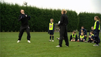 Football - keepy-up skills