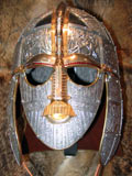 Viking burial mask