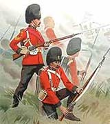 Image of Royal Irish Fusiliers with rifles