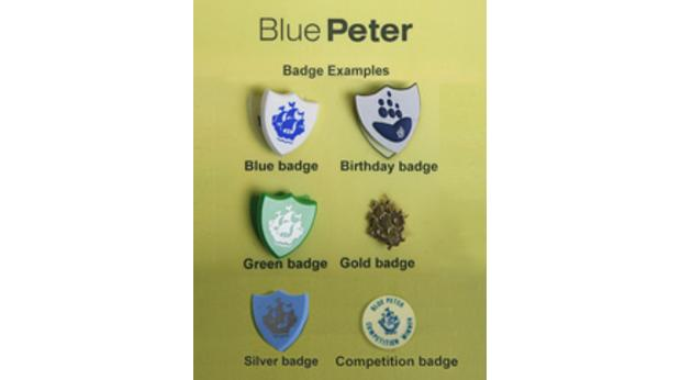 bbc - a history of the world - object : blue peter badges