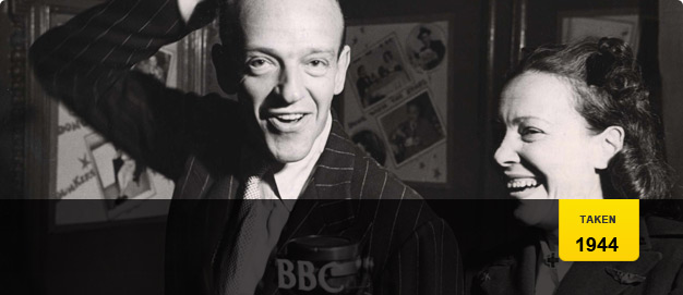 Fred Astaire in 1944.