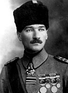 Mustafa Kemal Ataturk, c. 1916