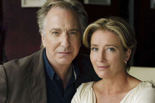 Alan Rickman and Emma Thompson in The Song Of Lunch