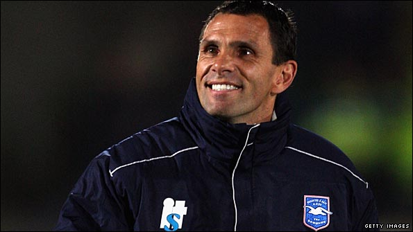 Gus Poyet is going it alone at Brighton