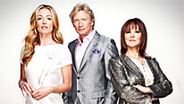 "(L-R) Cat Deeley, ""Nasty"" Nigel Lythgoe and Arlene Phillips kick off the search for Britain's favourite dancer"