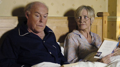 Timothy West and Sheila Hancock in Bedtime