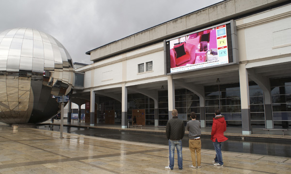Bristol big screen