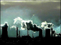 greenhouse gasses, a cause of climate change