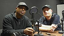 BBC 6 Music's Dave Pearce and Public Enemy front-man Chuck D