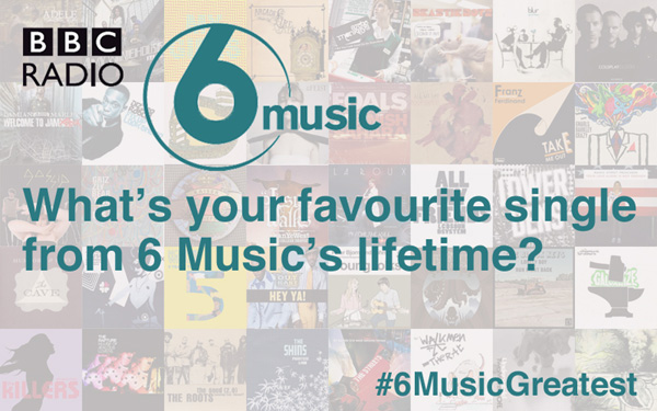 What's the greatest song in 6 Music's history?