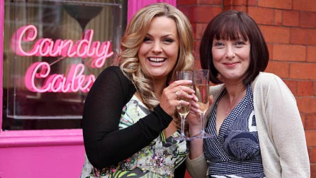 Jo Joyner and Lisa Millett star in Candy Cabs