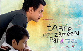 Aamir Khan and Darsheel Safary in Taare Zam
