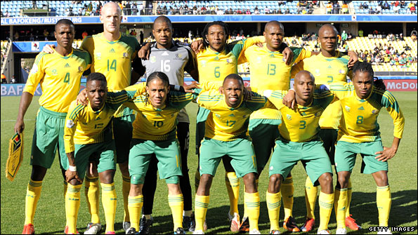 Booth was South Africa's only white player during the Confederations Cup