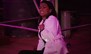 Freema Agyeman in Doctor Who: The Poison Sky