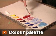 Watch colour palette video