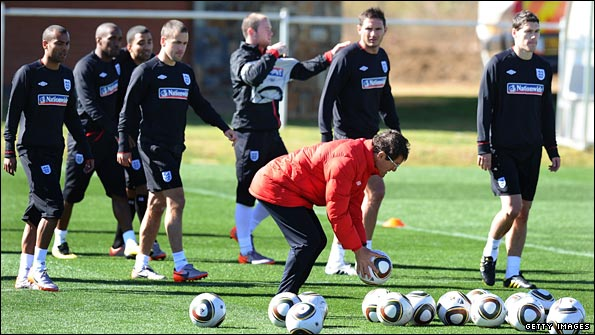 Fabio Capello will get his message across at training