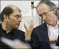 Ian McEwan and Michael Berkeley