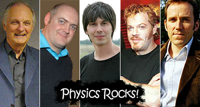 Celebrities appearing in Physics Rocks