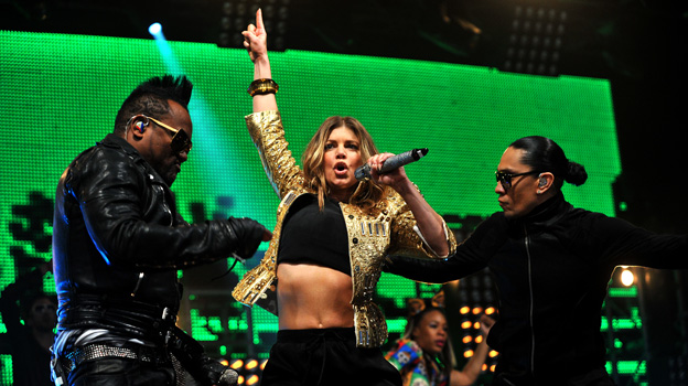 Black Eyed Peas at Big Weekend 2011