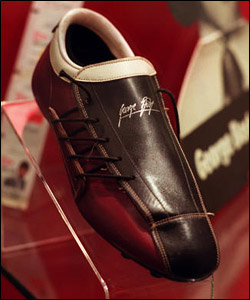 George Best's boot
