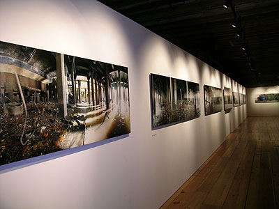 Panoramic photos on display Unquiet Thames Gallery