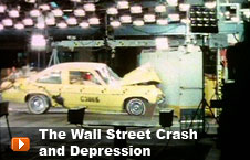Watch 'The Wall Street Crash and Depression' video