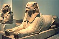 Image of the granite sphinx of Hatshepsut