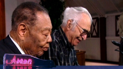 Jazz pianists Dave Brubeck and Jay McShann perform 'Mission Ranch Blues'