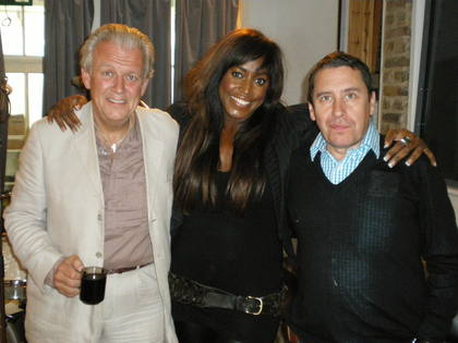 Mica Paris with Gilson Lavis and Jools Holland