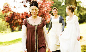 Miss Austen Regrets: Jane Austen (Olivia Williams), Cassandra Austen (Greta Scacchi) and Fanny Knight (Imogen Poots)