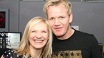 Jo with Gordon Ramsay