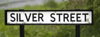 Silver Street Sign
