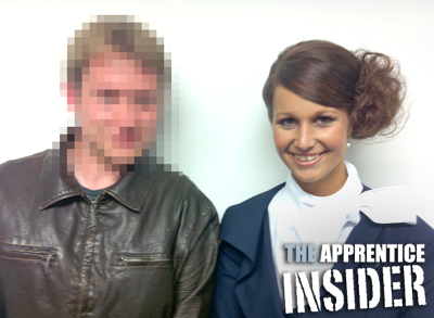 Apprentice candidate Zoe and the Apprentice Insider