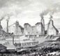 Coal mining was an important industry. Hetton Colliery, near Sunderland, (pictured) had one of the world's first private steam railways, opened in 1822.