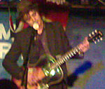 Beth's cameraphone shot of Pete Doherty