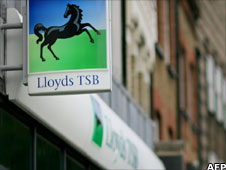 Lloyds bank sign