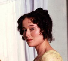 Jennifer Ehle as Elizabeth Bennet.