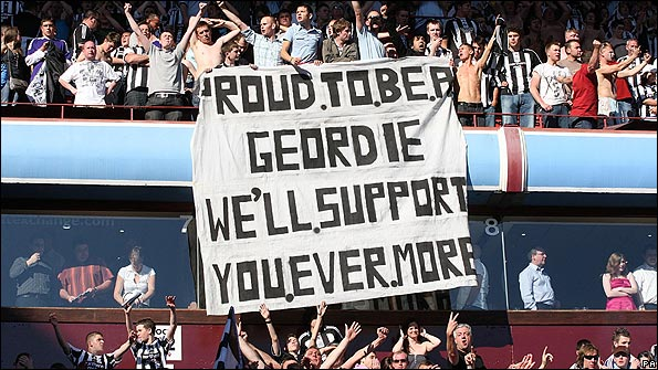 Newcastle fans say they will support the team in whatever division
