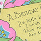 A birthday card from Patricia''s mum, sent to Delia in the United States in 1941