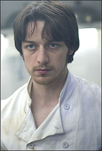 James McAvoy starred in the BBC drama Macbeth