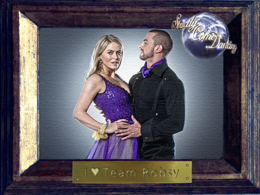 Team Robsy - Patsy Kensit and Robin Windsor
