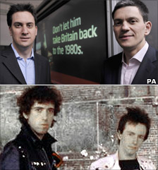 Miliband brothers and The Clash