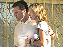 Madeleine's parents, Gerry and Kate McCann