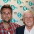 Richard with Sir Michael Parkinson