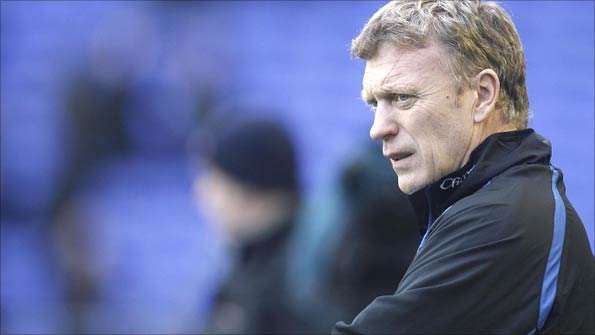 David Moyes has cut a weary and frustrated figure at times this season